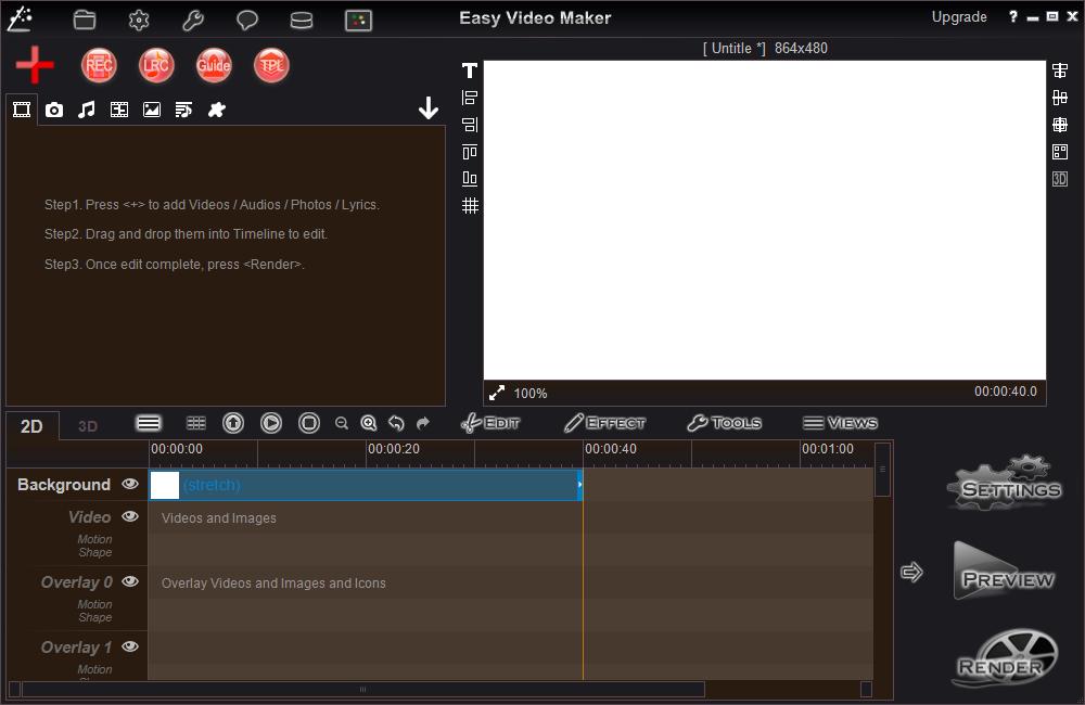 video background maker software