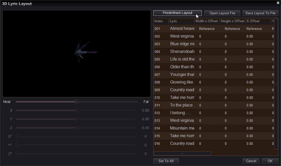 Easy Video Maker-Easy to make a Lyrics or Karaoke video.