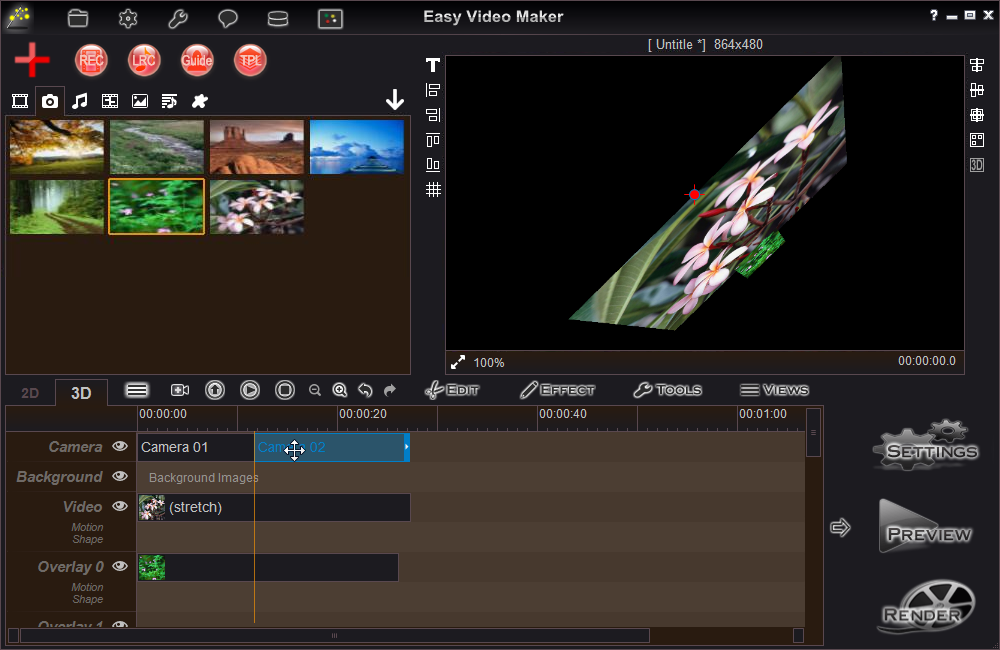 Easy Video Maker Easy To Create Make A 3d Video